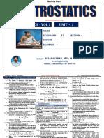 Namma Kalvi 12th Physics Unit 1 Study Material Tm