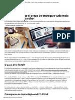 EFD-REINF_ o Que é, Prazo de Entrega e Tudo Mais Que Você Precisa Saber