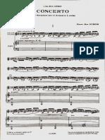 Dubois Concerto Score