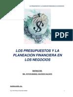 Material Presupuestos y Planeación Financiera Jul.ago.19