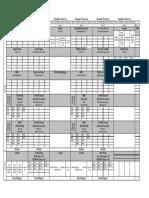 Prep Workout Sheet Week 9-12