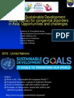 SDG Congenital Disorders