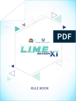 LIME 11 Rule Book