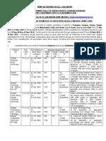 Army Recruitment Rally Ratnagiri Notification 17 Nov to 27 Nov 2019