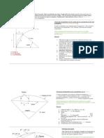 Technique d`implantation d`une courbe para les coordonnées X et Y sur la tangente