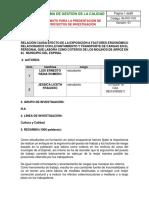 Proyecto de Investigacon Plantilla