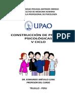 Construccion de Pruebas Psicologicas Upao
