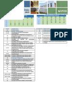 UFVJM Calendario Academico Presencial - 2019