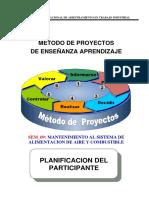 1.9- Proyecto Mantenimiento Al Sistema de Aire-combustible 2019 Participante