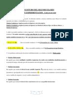 Guía de Estudios Del Segundo Examen de Experimentación-12 Julio 2016.
