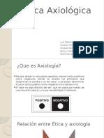 Ética Axiológica (2)