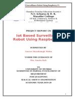 My Surveillance Car Report