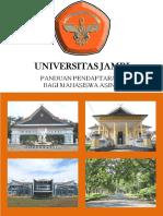 Booklet Pendaftaran Bagi Mahasiswa Asing