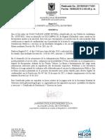 Certificación de Residencia Ciudadano
