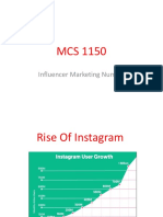 mcs 1150 slide 5 - influencer marketing numbers