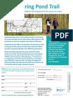 DNR Rearing Pond Fund Fact Sheet