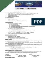 Mobile Legends Tournament