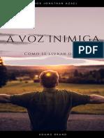 A Voz Inimiga Portuguese Author Jonathan Azael [Adams Brand]
