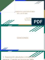 Procedimiento Administrativo Sancionatorio de Las FF.mm.