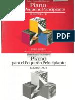 Piano Basico de Bastien Piano Elemental B Para El Pequeno Principiante