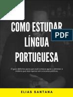 COMO ESTUDAR LINGUA PORTUGUESA