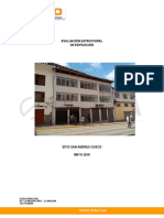 Informe Estructural Sandasd