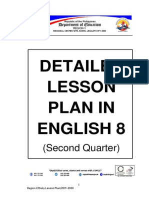 English Grade 8 Q2 pdf Learning