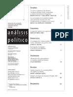 La Ontología de La Violencia Política. Acción e Identidad en Las Guerras Civiles
