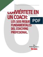 Conviértete en Un Coach