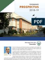 PG Prospectus 2018 19