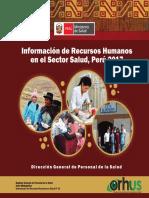 Información de Recursos Humanos en el Sector Salud, Perú 2017Dirección.pdf