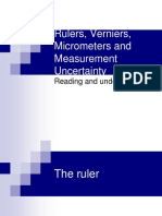 Ppt Vernier and Micrometer