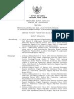 Peraturan Bupati Sidoarjo  No 25 Tahun 2019