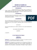 Ley de Tribunales de FAmilia, Decreto Ley 206.doc