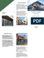 Modelo Triptico Arquitectura
