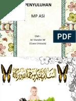 Penyuluhan MP ASI.ppt
