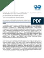 Calibración de mecánica de rocas y estabilidad de hoyos en yacimientos cretácicos naturalmente fracturados, Bloque XI, Cuenca de Maracaibo. Paper SPE-WVS-394.