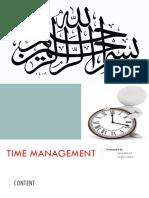 Time Mnagement- ALif.pptx
