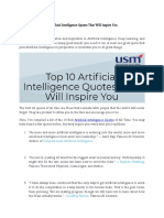 Top 10 Artificial Intelligence Quotes That Will Inspire You