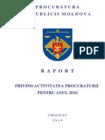 2019-03-05_Raportul Public Activitatea Procuraturii Generale Anul 2018