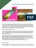 power bar for vastu correction