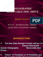 Holographic Removable Disc Drive