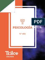 PSICOLOGÍA 2018 - 4º