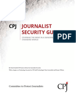 Journalist Security Guide