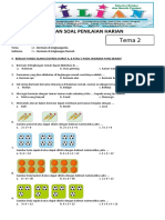 Soal Tematik Kelas 2 SD Tema 2 Subtema 1 Bermain di Lingkungan Rumah dan Kunci Jawaban.pdf