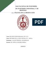 Informe 1 de Procesos Industriales