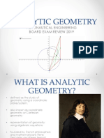 Analytic Geometry 2018- Jkcg - Lecture (Student's Copy)