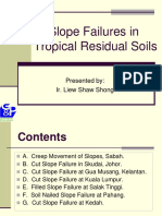 slope failure