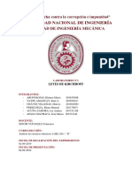 INFORME DE LABORATORIO CIRCUITOS