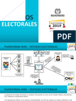 Testigos Electorales 2019 Partidos
